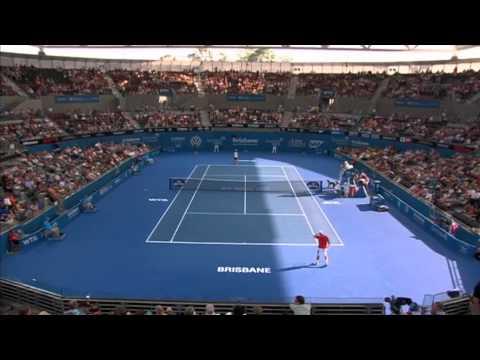 Matthew Ebden v Kei Nishikori - Full Match Men's Singles Round 2: Brisbane International 2014