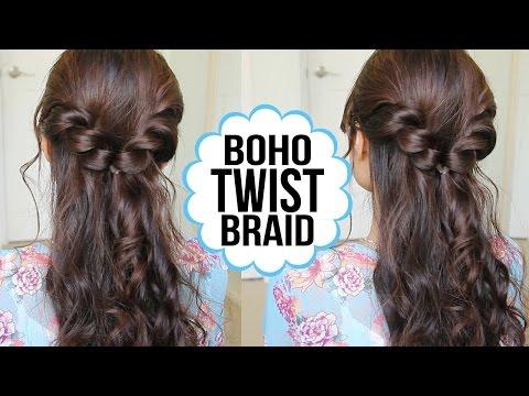 Easy Twist Braid Hairstyle | Hair Tutorial + GIVEAWAY