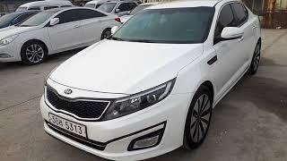 Korean Used Car - 2014 Kia The New K5 (18 RING+MONITOR+CAM) [Autowini.com]