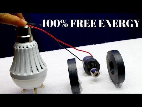 Free Energy Generator,Free Energy Generator by Using Magnets - Free Energy Light Bulbs 230v thumbnail
