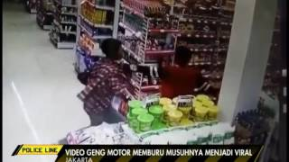 Video Amatir, Perlakuan Genk Motor Tarik Korban Hingga Dibunuh & Dilempar Batu - Police Line 24/05