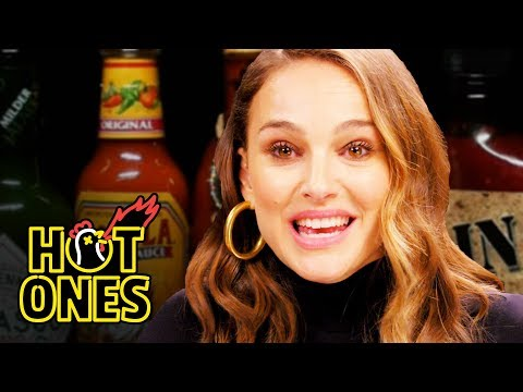 Natalie Portman Pirouettes in Pain While Eating Spicy Wings | Hot Ones