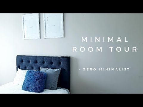 Minimalist bedroom tour