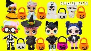 LOL Surprise HALLOWEEN Trick or Treat Halloween Slime, Halloween Costumes ALL THINGS HALLOWEEN