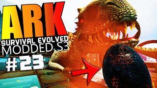 ARK Survival Evolved - INDOMINUS REX NEMESIS MOD, TAMING & BREEDING Modded #23 (ARK Mods Gameplay)