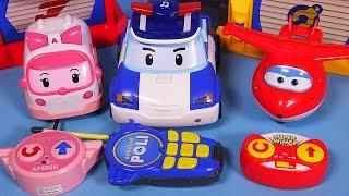 Robocar Poli Super wings RC car toys - 폴리 슈퍼윙스 무선조종 장난감
