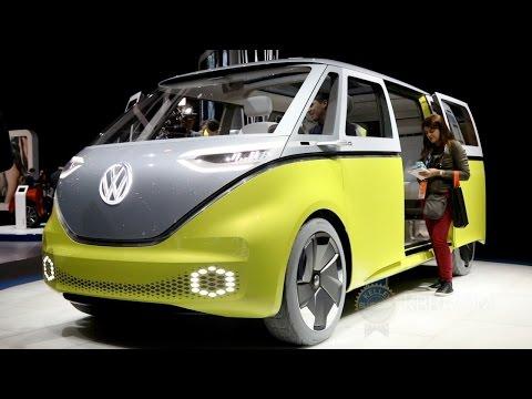Volkswagen I.D. Buzz Concept - 2017 Detroit Auto Show