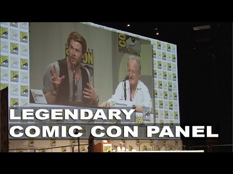 Blackhat Comic Con Panel: Chris Hemsworth and Michael Mann