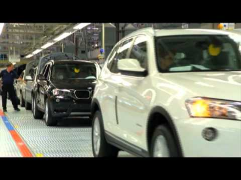 BMW Plant Spartanburg Final check and loading