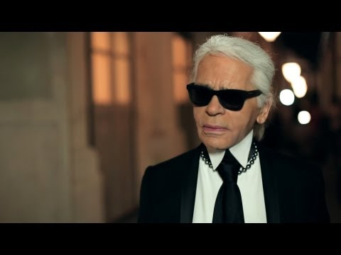 Karl Lagerfeld's interview - Cruise 2013/14 CHANEL show