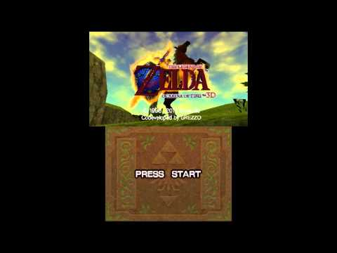 The Legend Of Zelda: Ocarina Of Time 3d - In-game On Citra! video