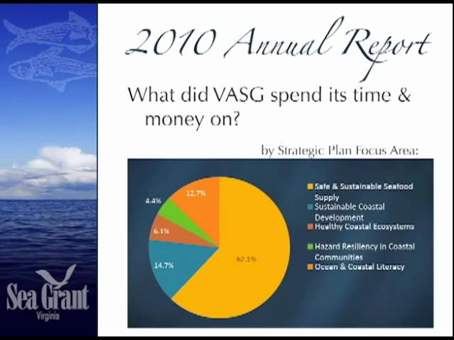 2010 State of Virginia Sea Grant Annual Report (Part 2)