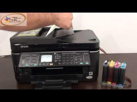 Multinfuncional Epson Stylus Office TX620FWD con Sistema de Tinta Continua STC