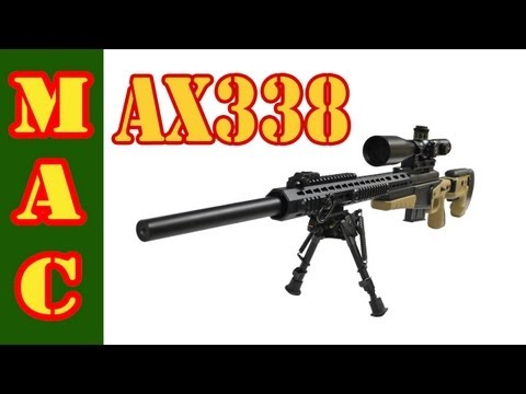 SHOT Show - Accuracy International AX338 Rifle