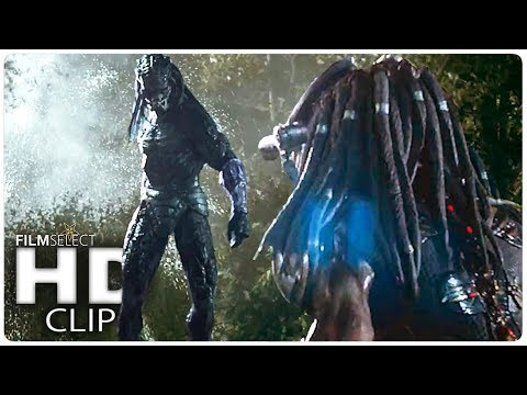"THE PREDATOR ""Hunting Each Other"" Clip (2018)"
