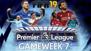 Chelsea vs Liverpool - FIFA 19 Premier League Gameweek 7 Highlights