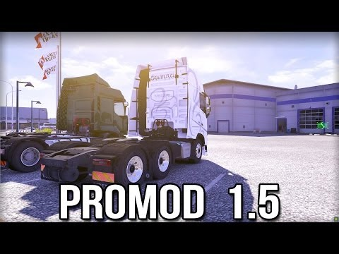 ProMod 1.5 - Euro Truck Simulator 2 (Scandanvia and France Map)