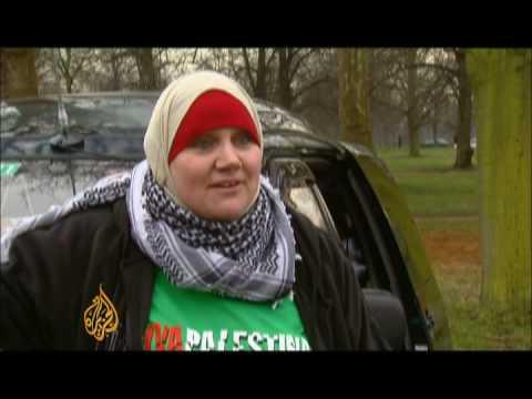 Gaza-bound aid van set for mammoth journey - 15 Feb 09