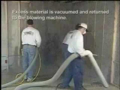 Installing Cellulose Insulation