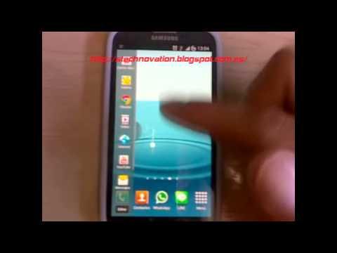 Samsung Galaxy 3 como quitar pestaña multitarea