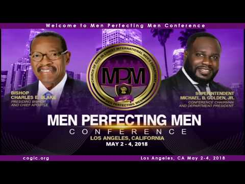 C.O.G.I.C Men's  Conference Bishop Kenneth Ulmer 5/3/18 7pm