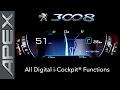 PEUGEOT 3008 SUV GT LINE - i-COCKPIT FUNCTIONS (2017)