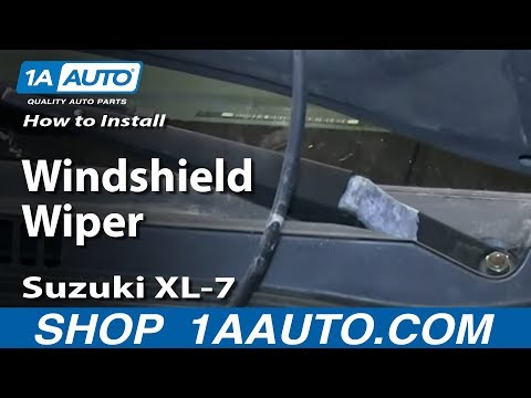 How To Install Replace Windshield Wiper Arm Suzuki XL-7