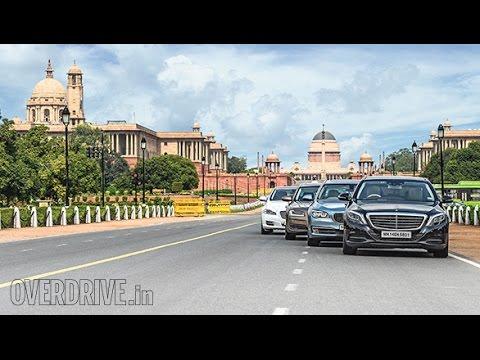 Audi A8 L vs BMW ActiveHybrid 7L vs Jaguar XJ L vs Mercedes-Benz S350 CDI