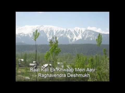 Raat Kali Ek Khwaab Mein Aayi Karaoke