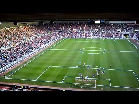 Hull City v Sunderland, Shane Long goal.