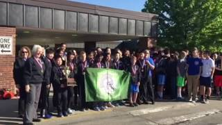 Welcome Home, DWJHS: 2017 Science Olympiad National Champs!