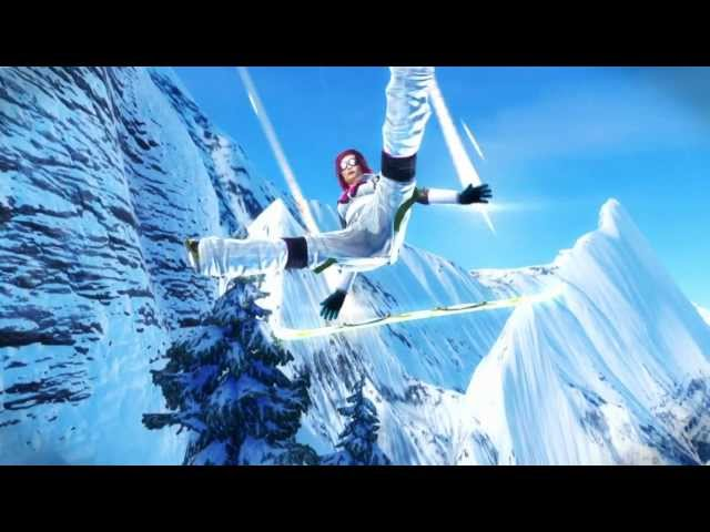 SSX It&#039;s Tricky Trailer