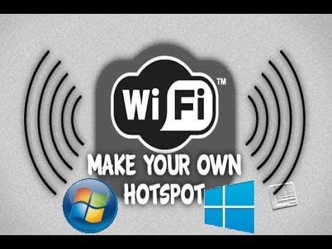 How to turn your Windows 7/8 Laptop into a WiFi Hotspot 2014