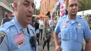 Police called on Street Preacher it BACKFIRES!