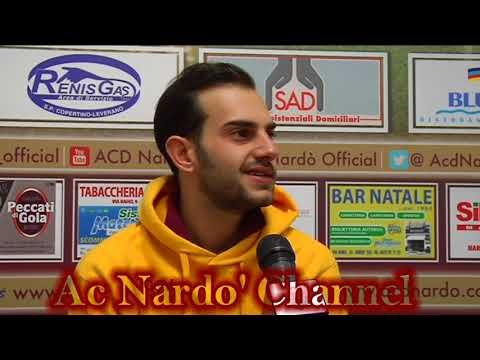 Post partita Nardò-Cerignola. Le interviste con Teore Grimaldi