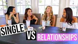 Being Single VS Relationships! w/ Carrie Rad + Madison89Miller + TanaMontana | #TeaTalk Episode 5