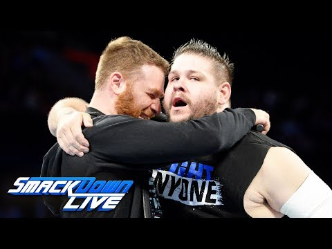 Sami Zayn explains why he helped Kevin Owens at WWE Hell in a Cell: SmackDown LIVE, Oct. 10, 2017 thumbnail