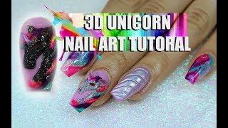 download lagu 3d Color Changing Unicorn Nail Art Tutoral gratis