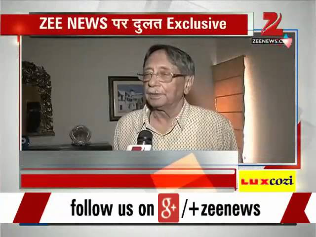 Zee Media Exclusive with former RAW chief AS Dulat