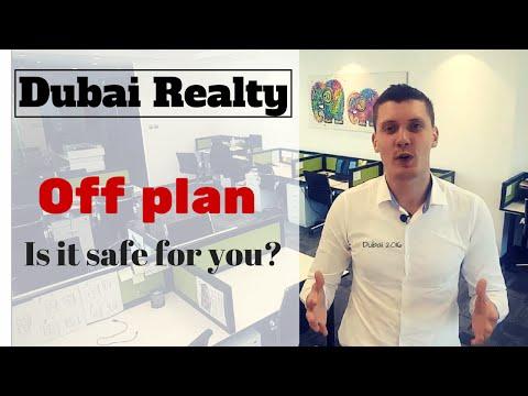 Dubai Real Estate: Off plan.