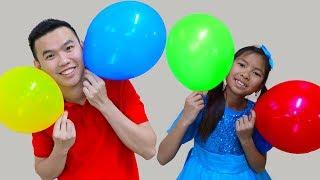 Learn Colors Finger Family Song – Wendy Pretend Play Nursery Rhymes & Kids Songs