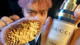 ASMR Sleep in 1 Minute ???? Korean Luxury Makeup on Yo Screen! (English ✔)