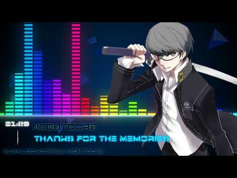 Nightcore - Thanks For The Memories