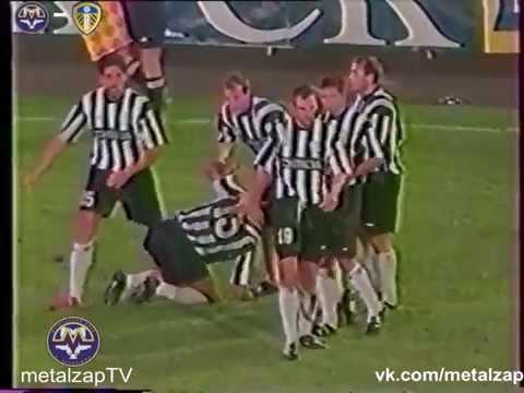 Металлург (Запорожье) - Лидс (Англия) 1-1  КУЕФА 2002/03  (Ответный матч)