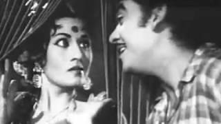 Chand Raat Tum Ho Saath - Kishore Kumar, Madhubala, Half Ticket Song