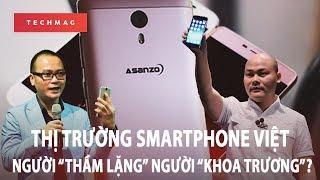 """Thị trường smartphone Việt: Người """"thầm lặng"""" người """"khoa trương""""?"""
