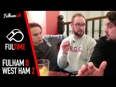 FUL-TIME REACTION | Fulham 0-2 West Ham