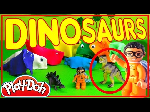 The Good DINOSAUR TOYS Delivered To Jurassic World | Animated Movie HD DUPLO MAN Saves Rainbow Dash