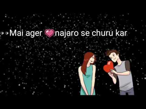 Main Agar : Bollywood : Romantic Love Song : 2018 : Whatsapp Status songs Lyrics