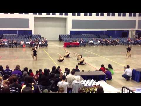 McAllen Memorial High School Prancers Team Modern Dance at ADTS